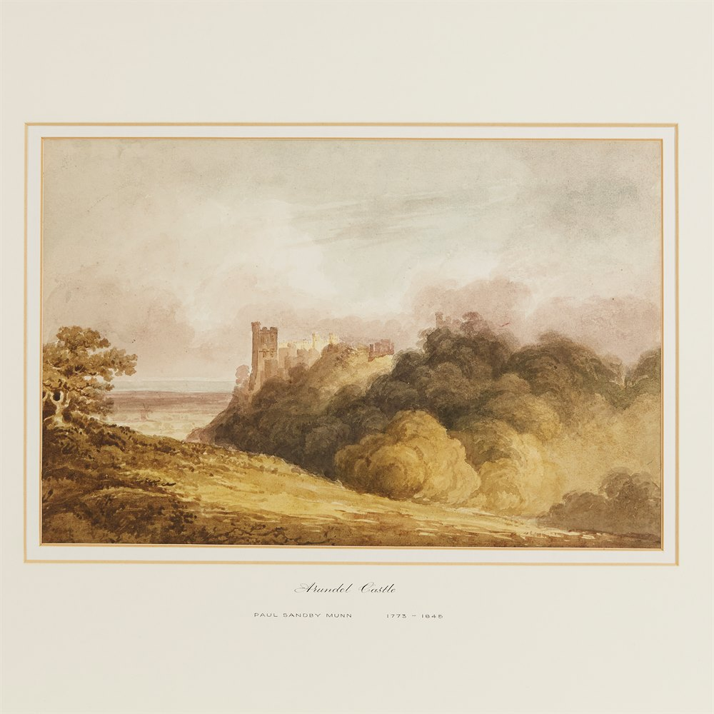 P.S.MUNN, ARUNDEL CASTLE 19TH C. Believed 19th C.