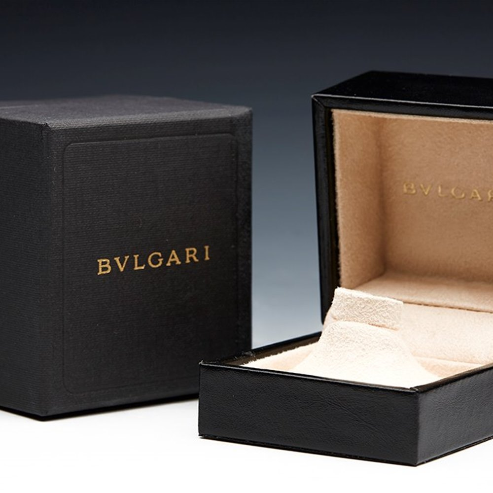 Bvlgari (Bulgari) 18K Rose Gold Monologo RinG
