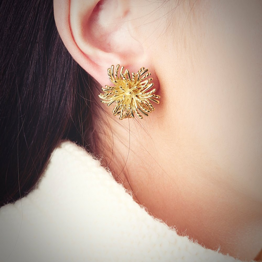 jewelry flower present miscellaneous accessories adult rakuten lady outletruckruck item s glass market accessory party goods second store dried earrings gift dome global en