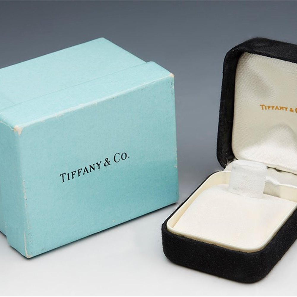 Tiffany & Co. 18k White and Yellow Gold 2.00cts Diamond Ring