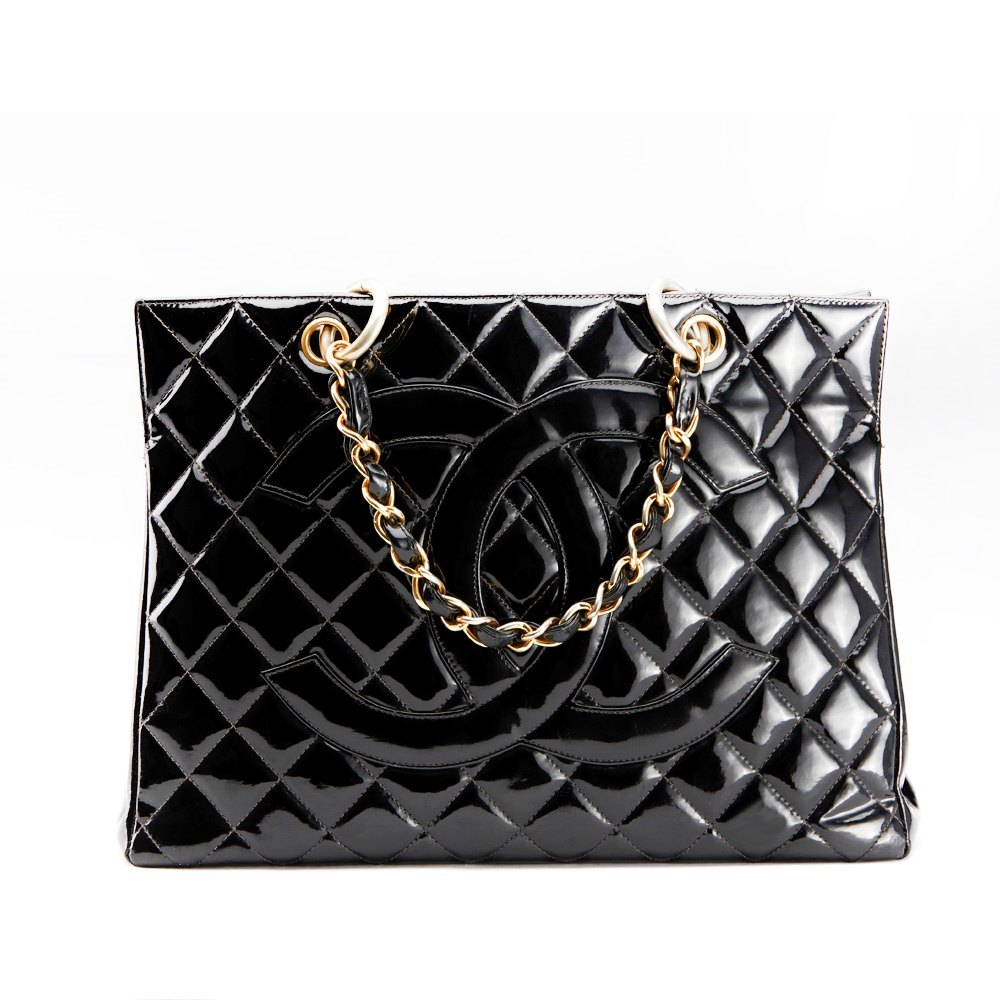 8436a1ba6bfc Chanel Grand Timeless Tote 1990's HB001 | Second Hand Handbags