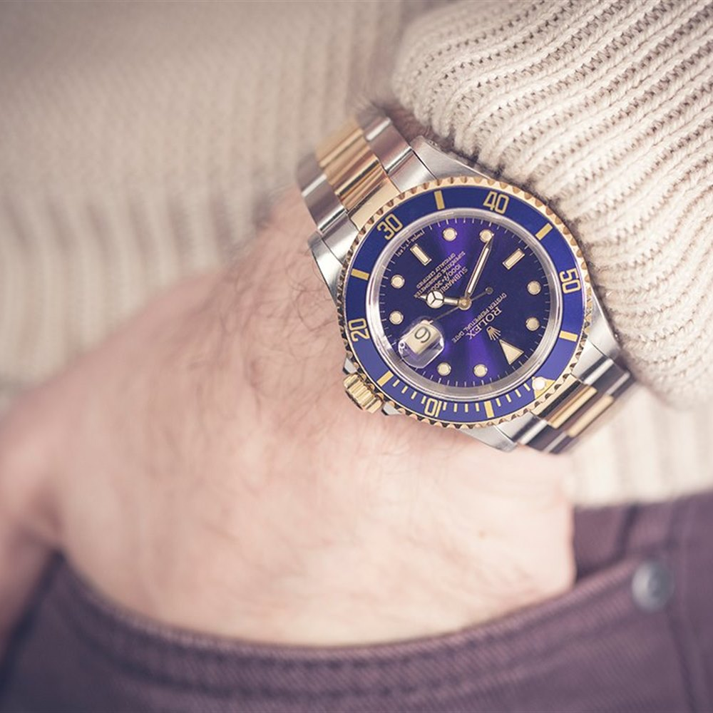Submariner Stainless Steel/18k Yellow Gold 16613
