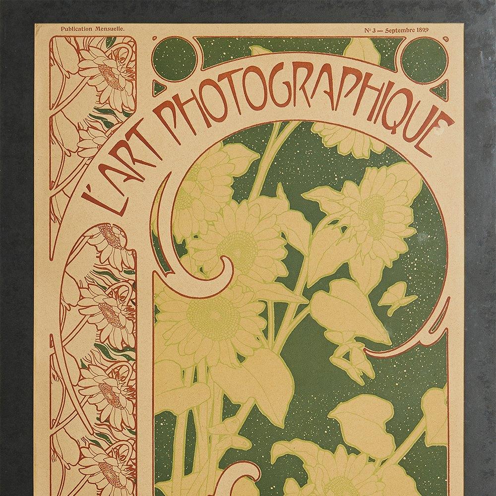 A. MUCHA, L'ART PHOTOGRAPHIQUE 1889 L'Art Photographique, No.3, September 1889