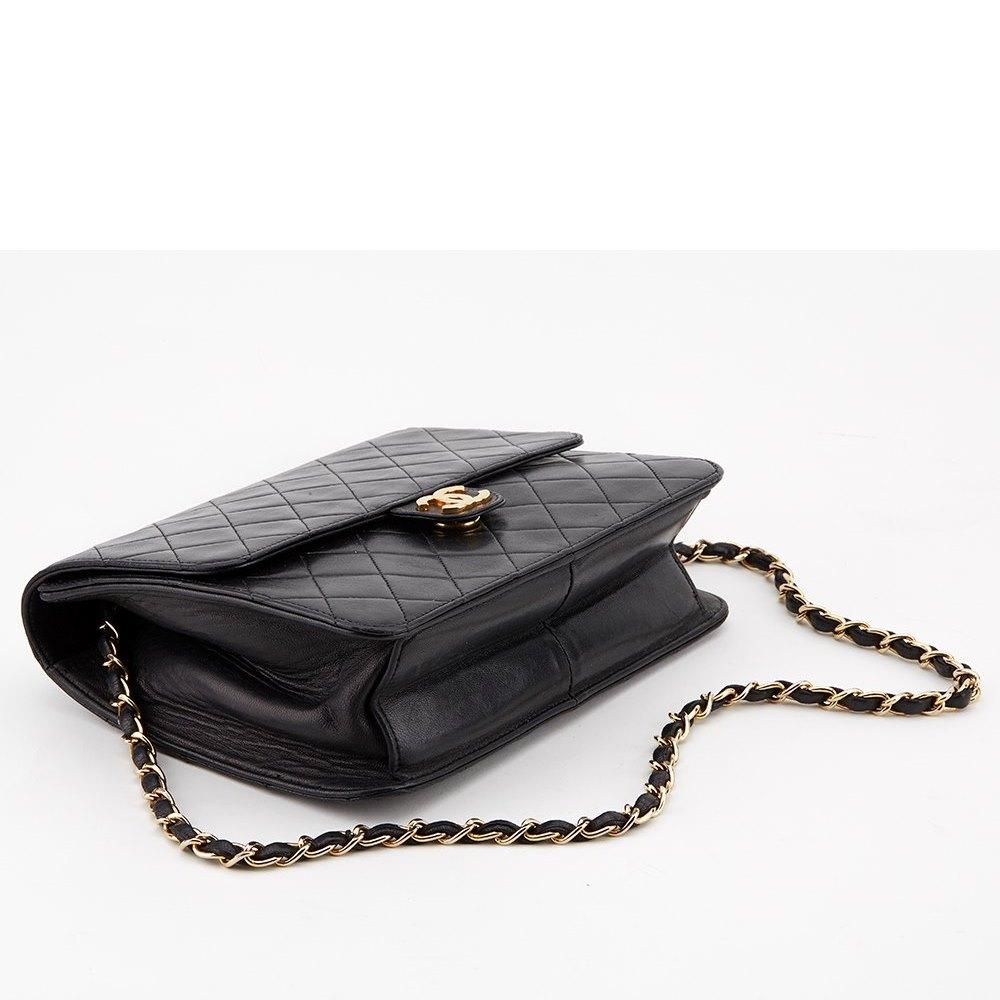ea82f0454425 Chanel Flap Shoulder Clutch Bag 1990's HB033 | Second Hand Handbags