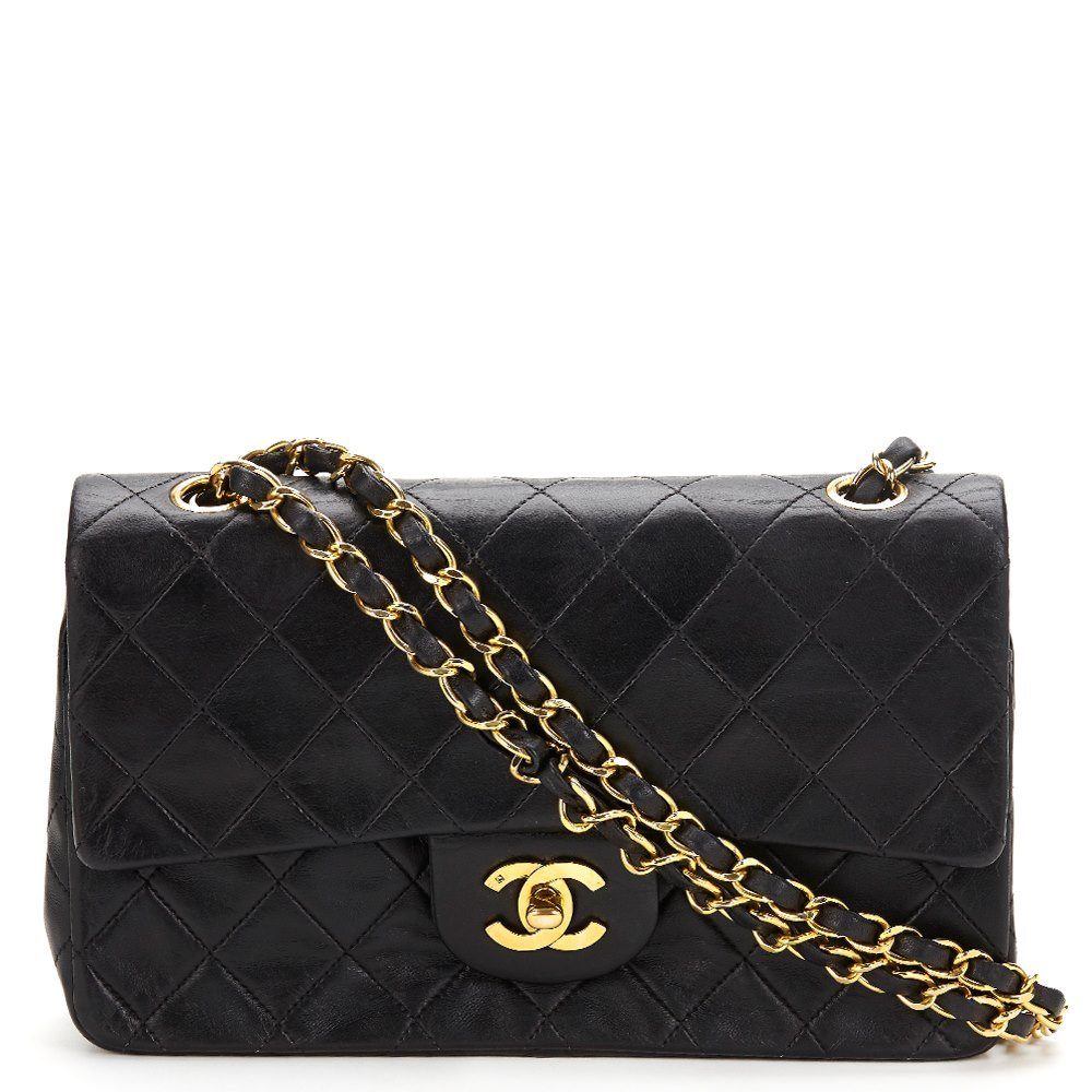 158cd63a Chanel Small Classic Double Flap Bag 1991 HB028 | Second Hand Handbags