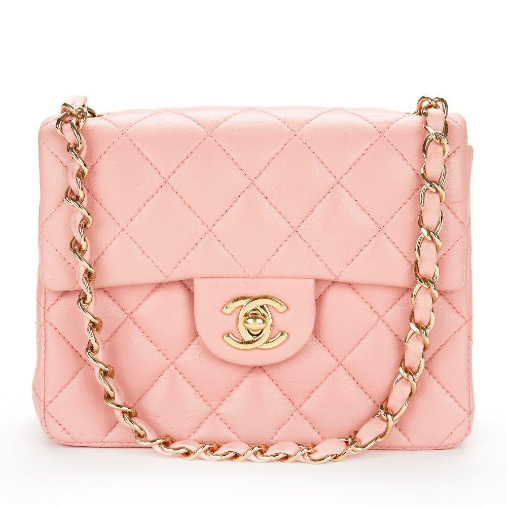 7960a3b77c48f5 Chanel Mini Flap Bag 1990's HB029 | Second Hand Handbags | Xupes