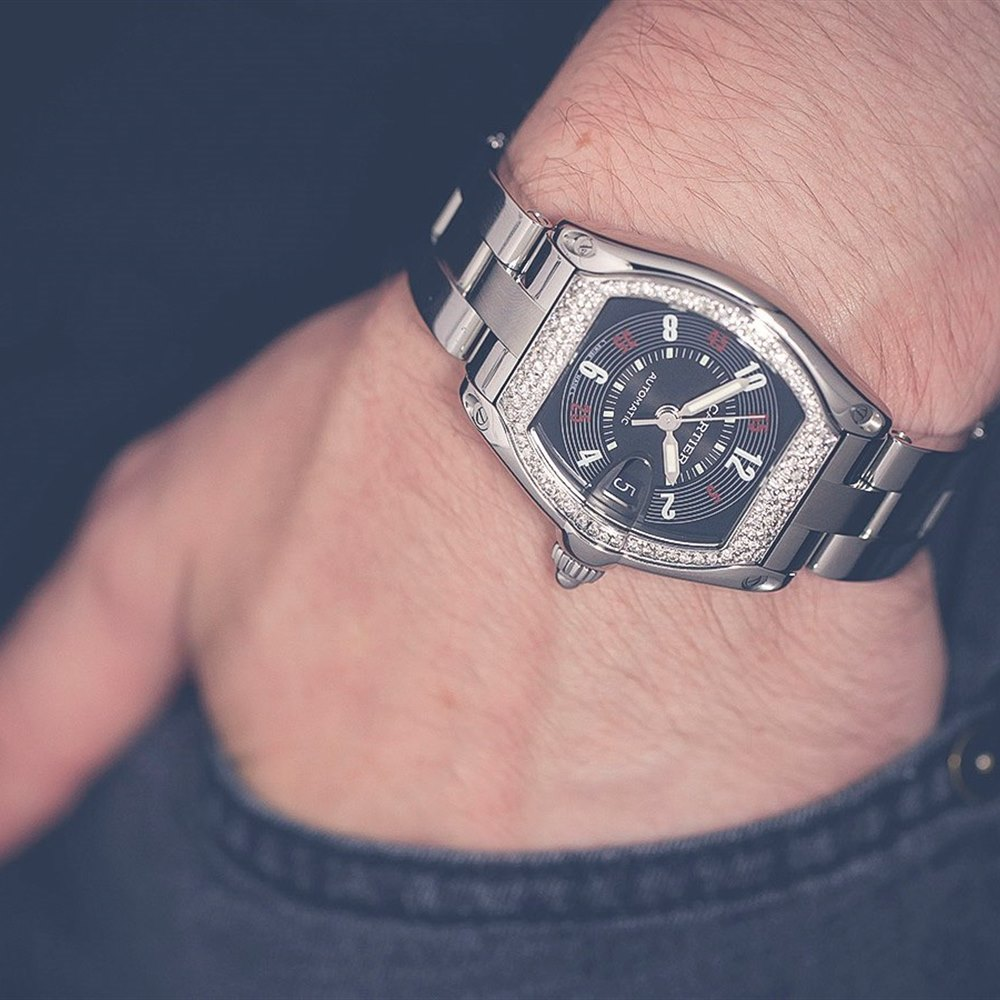 Cartier Roadster Stainless Steel W62000v3 e2573d5c5c