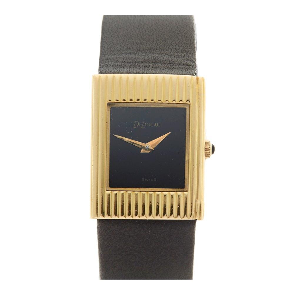 Delaneau Vintage 18K Yellow Gold