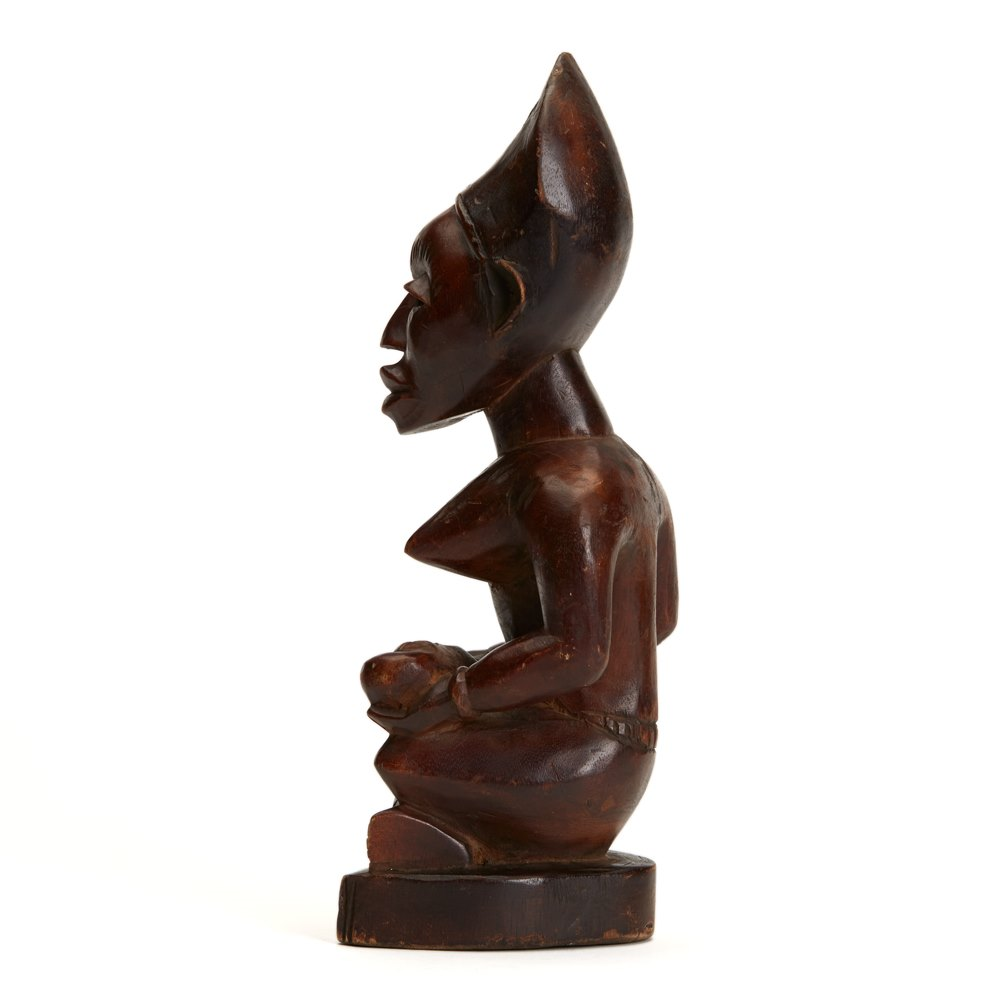 Carved West African Figure 20th C. Probably first half 20th Century