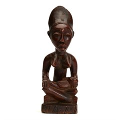 Vintage West African Figure 20Th C.