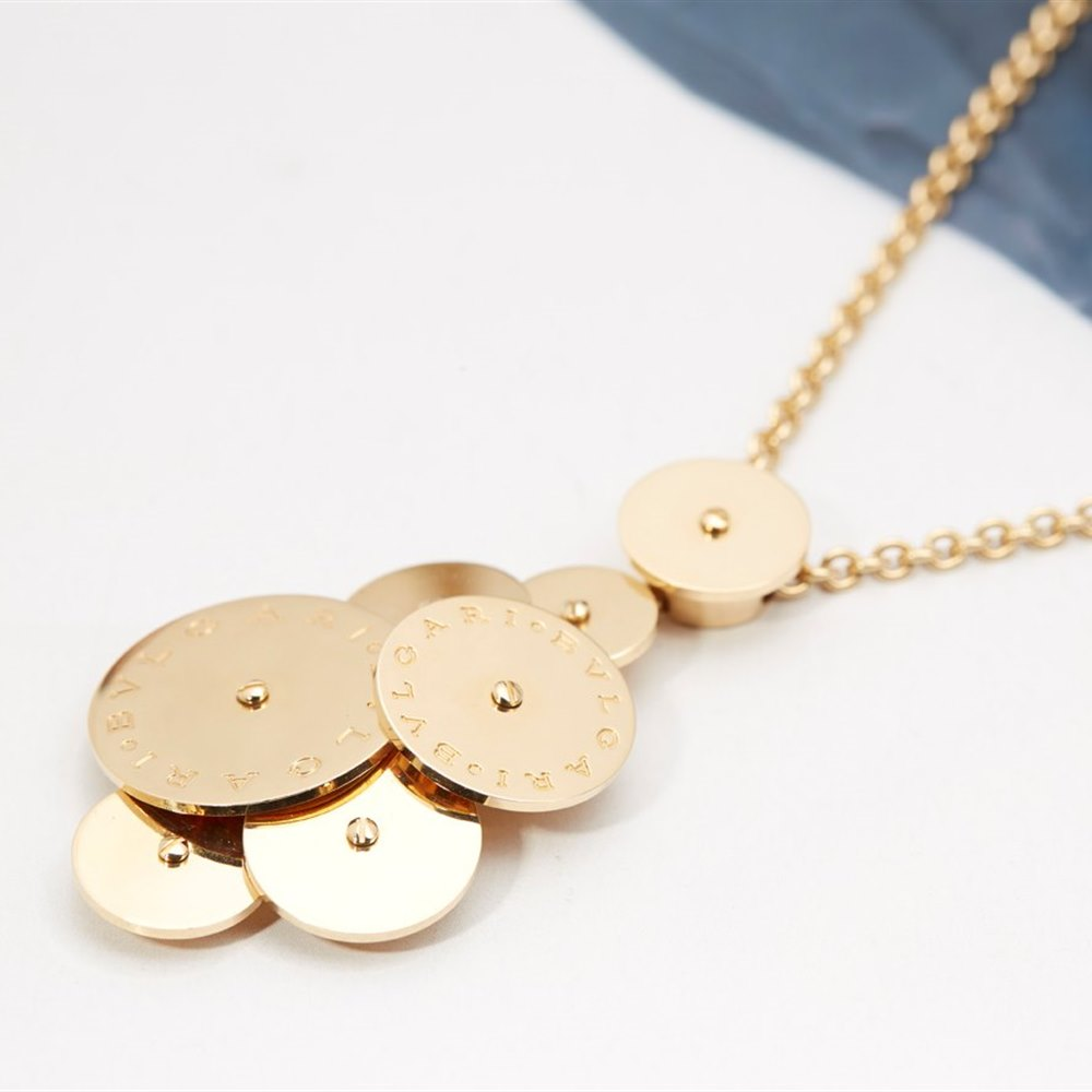 Bvlgari 18k Yellow Gold Cicladi Necklace