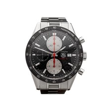 Tag Heuer Carrera Chronograph 42mm Stainless Steel - CV201T