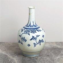 Antique Japanese Imari Porcelain Blue & White Vase 17Th C.