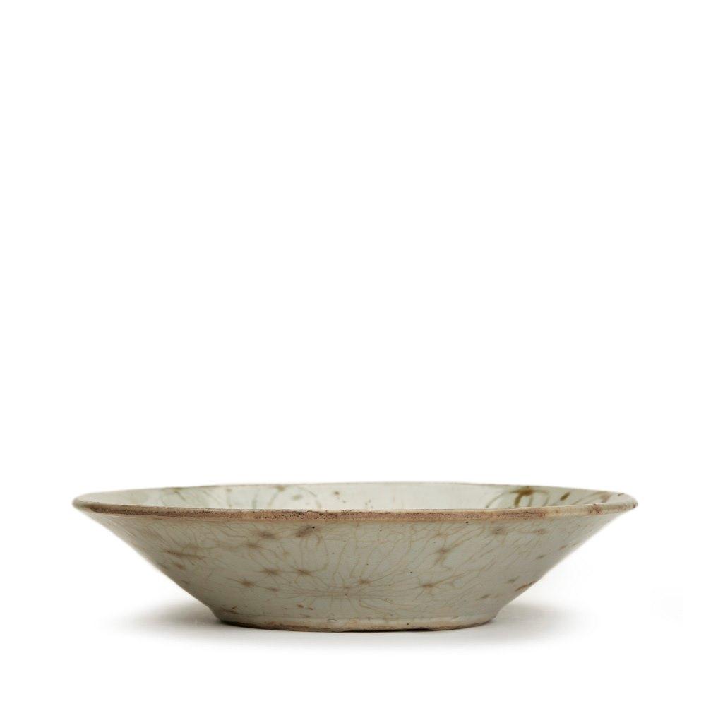 Glazed Vietnamese Stoneware Bowl 17th C. Pre 18th Century
