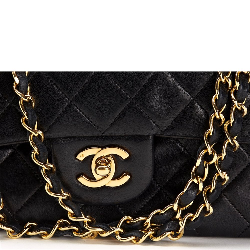 447acc93294f Chanel 2.55 Classic Double Flap Bag 1991 HB101 | Second Hand Handbags
