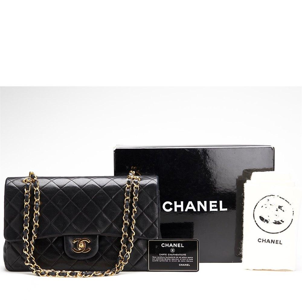 5a35159e89910c Chanel 2.55 Classic Double Flap Bag 1991 HB101 | Second Hand Handbags