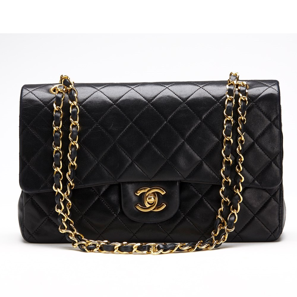 afbd0f2435ac Chanel 2.55 Classic Double Flap Bag 1991 HB101 | Second Hand Handbags