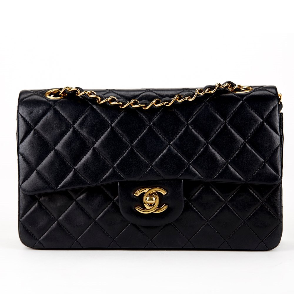 a3d498bc6c66 Chanel 2.55 Classic Double Flap Bag 1991 HB102 | Second Hand Handbags