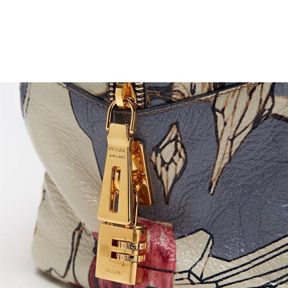 1d4e458d5eec ... clearance prada deerskin leather limited edition james jean fairy bag  597ae 2b59a