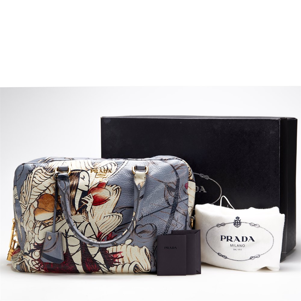 d8924a2cd7ec Prada Limited Edition James Jean Fairy Bag 2008 CB038 | Second Hand ...