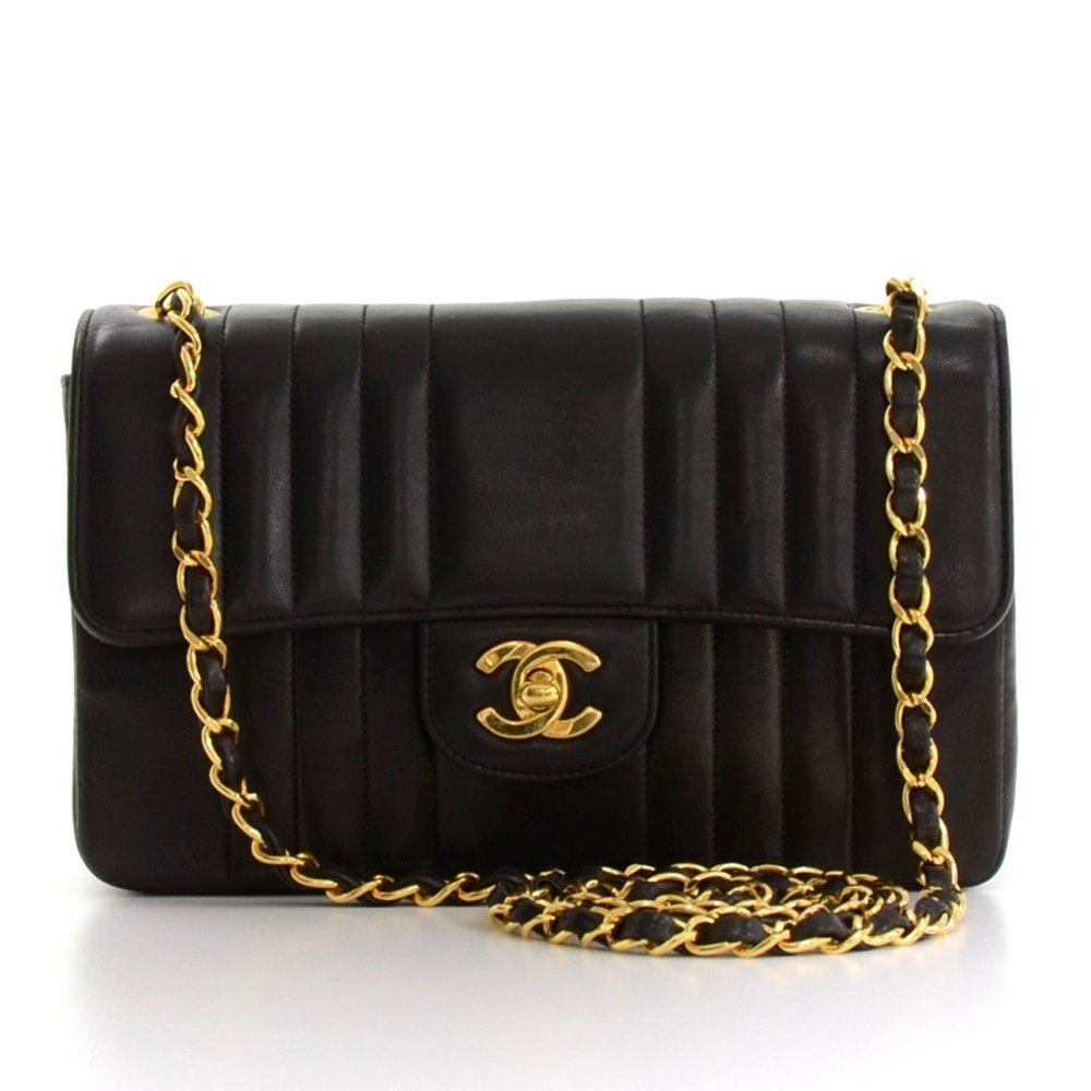 2f28a2128f90 Chanel Single Flap Bag 1993 HB109 | Second Hand Handbags | Xupes