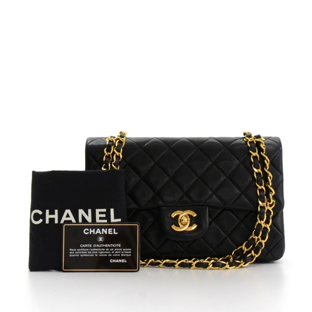 76702902581a Chanel 2.55 Double Flap Bag 1991 HB110 | Second Hand Handbags