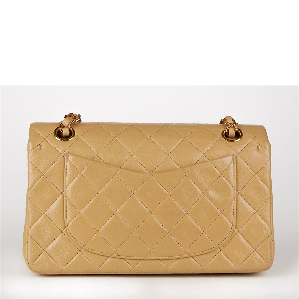 c2b3072297c09f Chanel Small Classic Double Flap Bag 1995 HB116 | Second Hand Handbags
