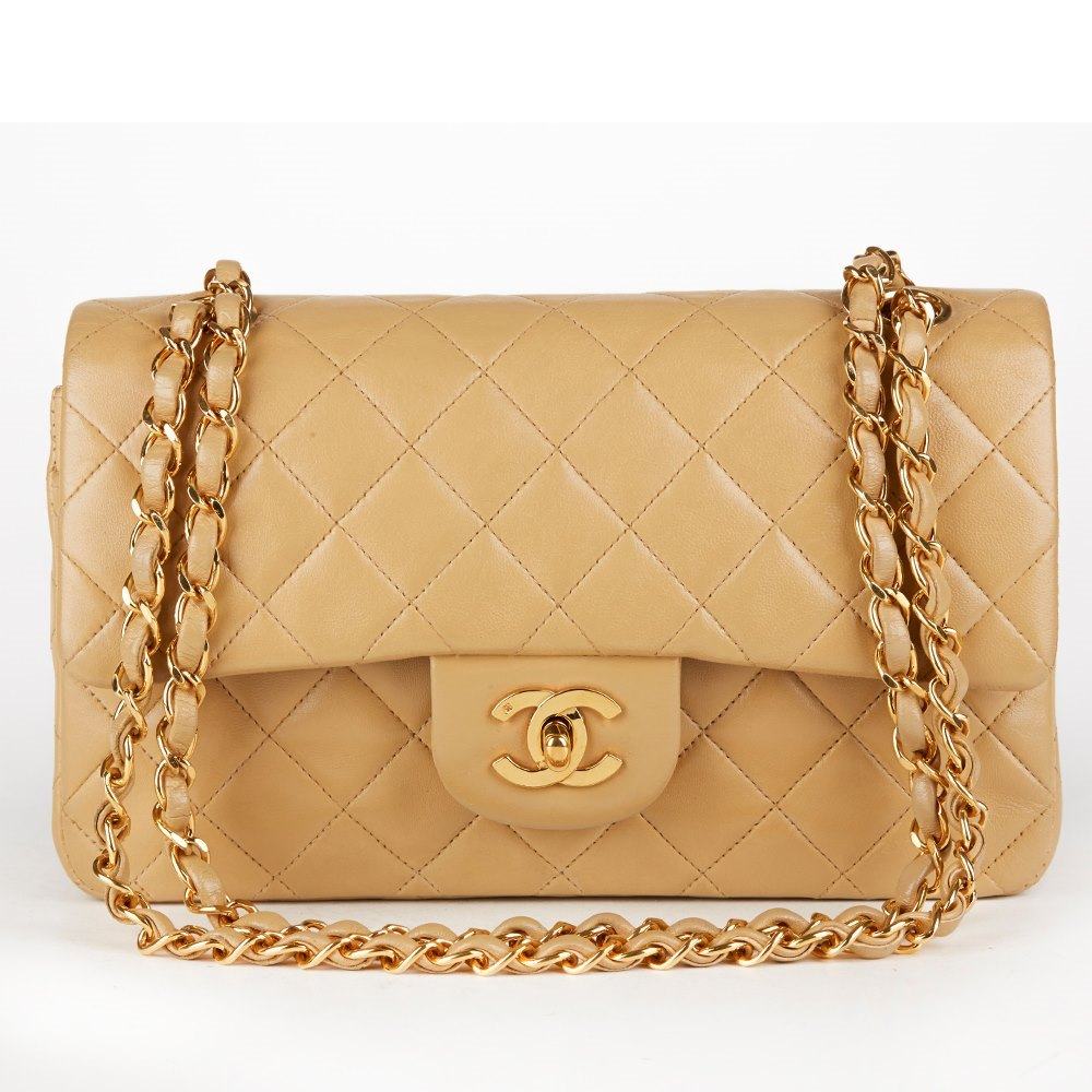 349384f073254a Chanel Small Classic Double Flap Bag 1995 HB116 | Second Hand Handbags