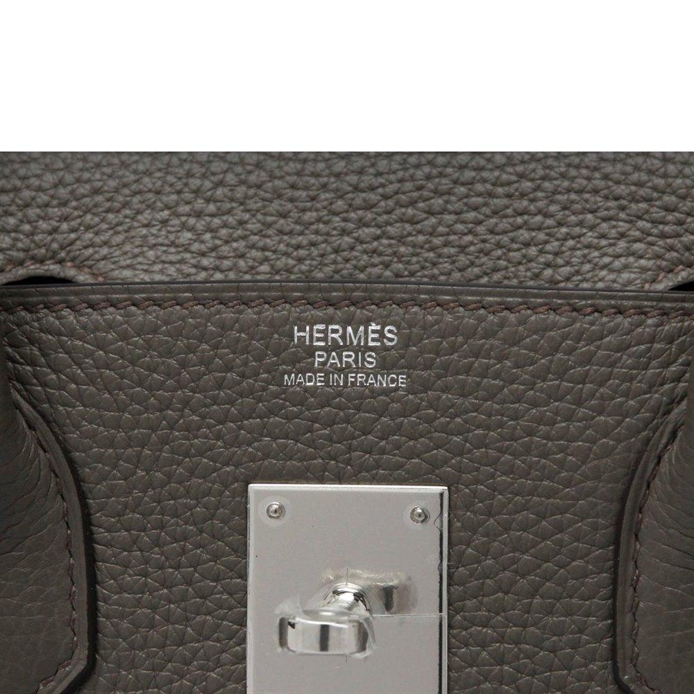 df1da23420df Hermès Etain Epsom Leather Birkin 30cm