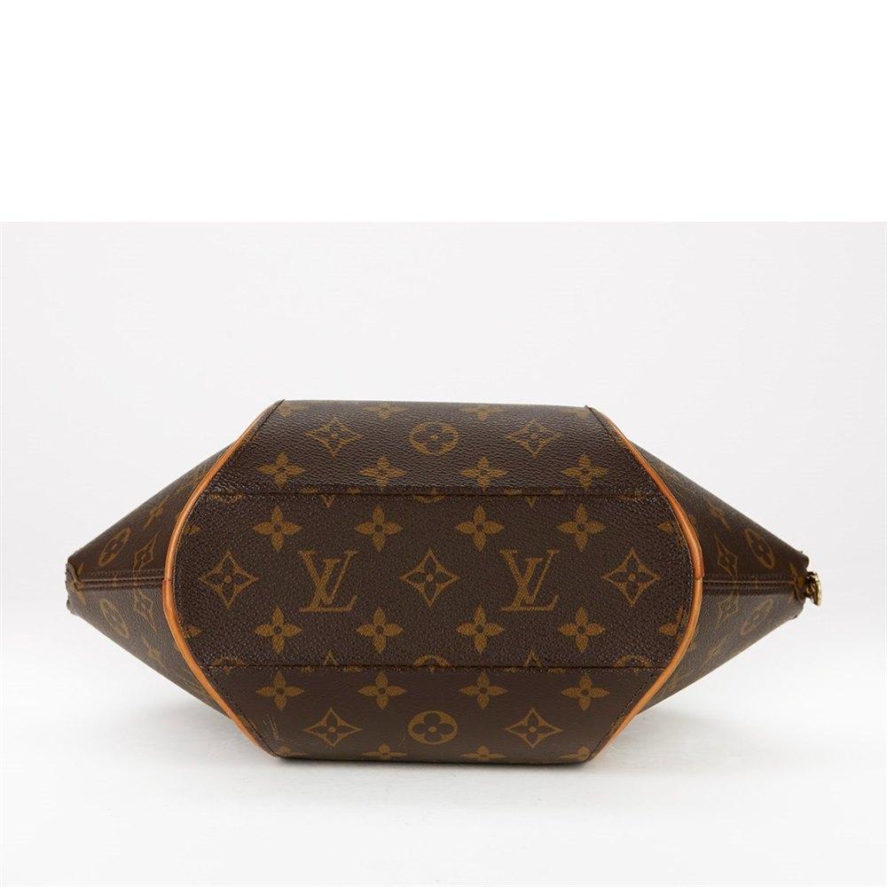 4394b79cf2c5 Louis Vuitton Brown Monogram Canvas Ellipse PM Tote
