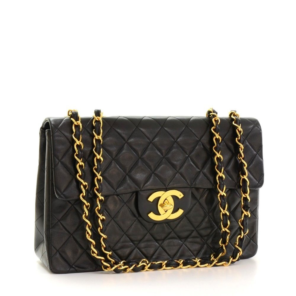 e13f4840ed9a Chanel Maxi Jumbo XL Flap Bag 1994 HB145 | Second Hand Handbags