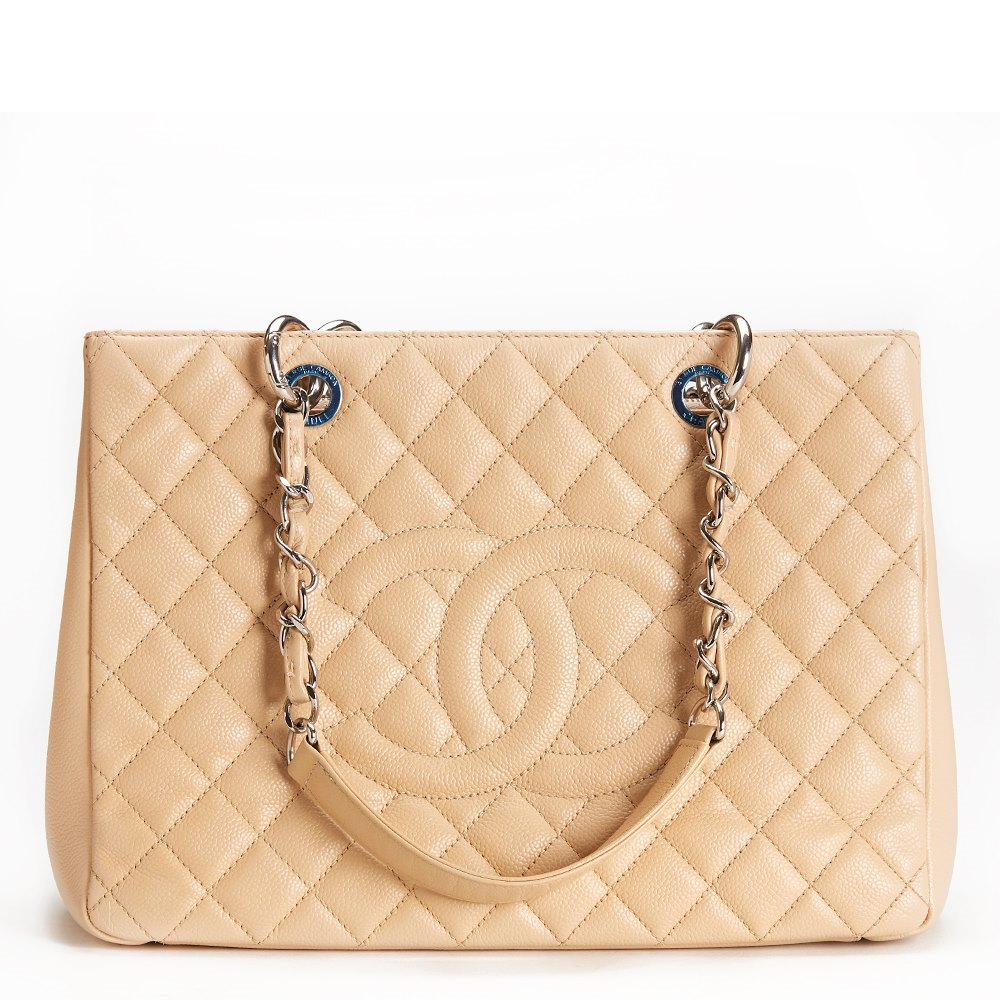 82857c1353dc Chanel Grand Shopping Tote 2012 HB158 | Second Hand Handbags | Xupes