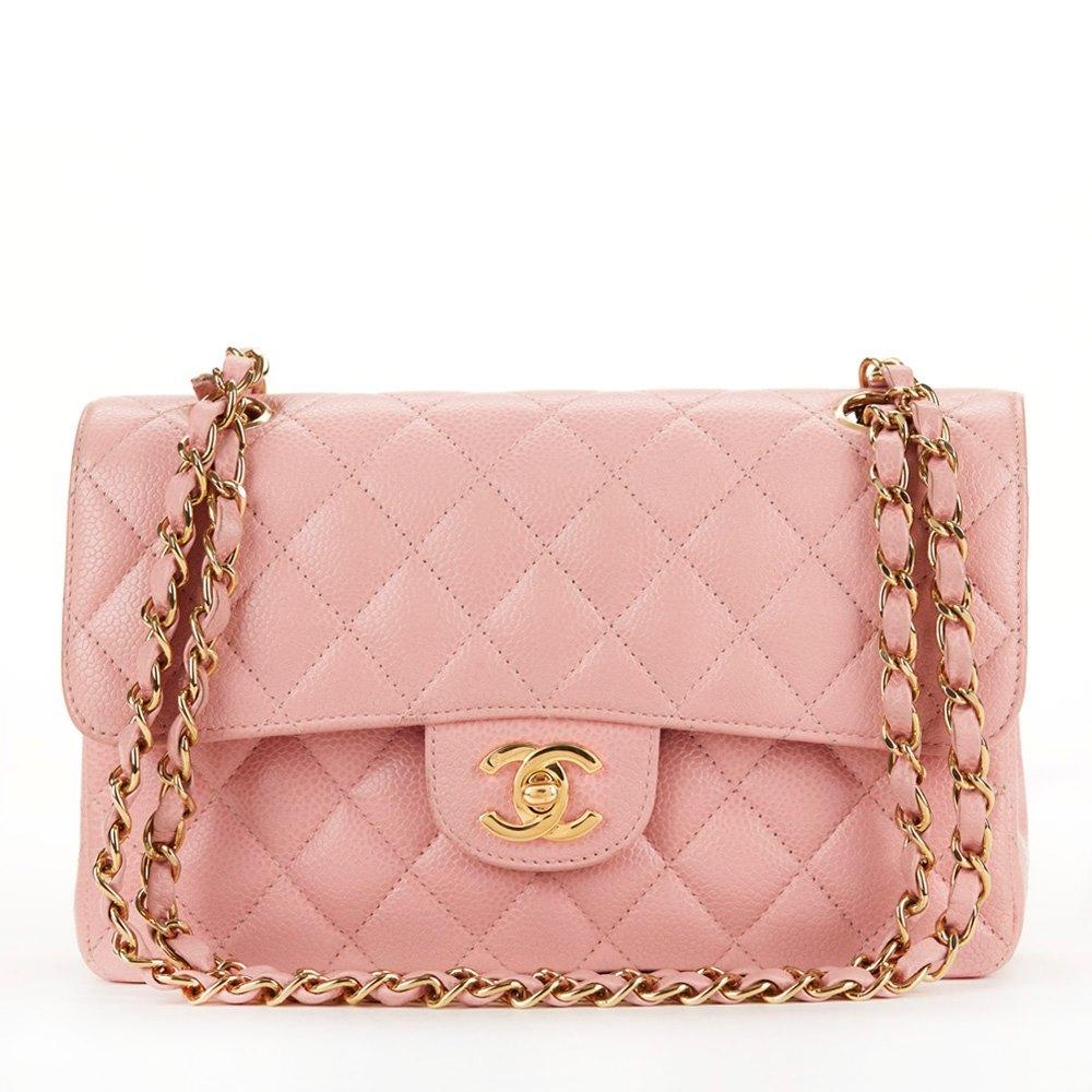 9c284b83 Chanel Small Classic Double Flap Bag 2004 HB159 | Second Hand Handbags