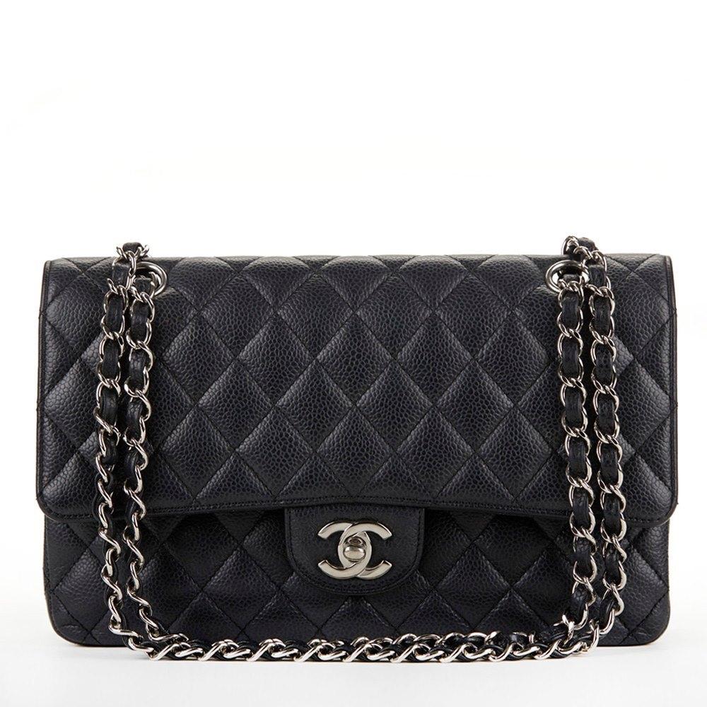 d9aa628aca0a Chanel Medium Classic Double Flap Bag 2009 HB170 | Second Hand Handbags
