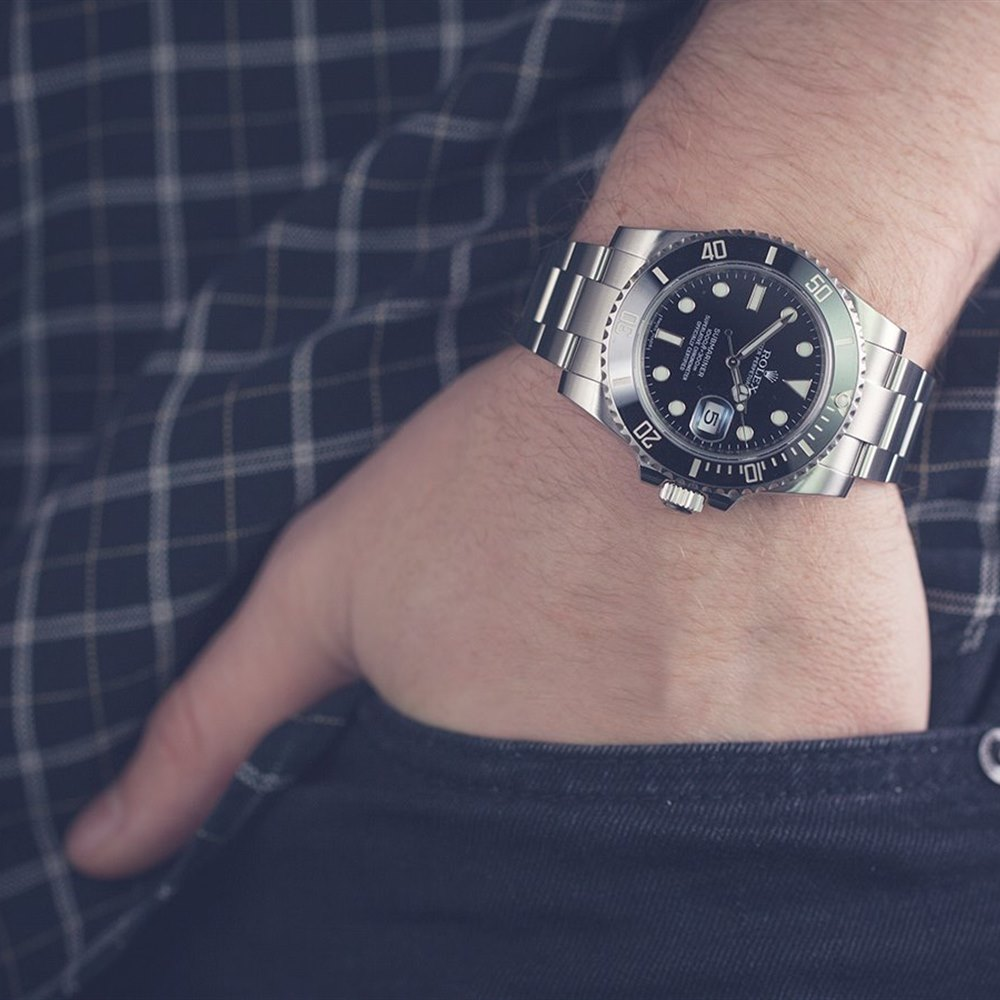 Submariner Date Ceramic Stainless Steel 116610LN