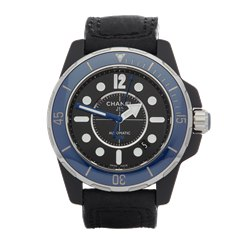 Chanel J12 Marine Ceramic Bezel 42mm Pvd Coated Stainless Steel - H2559