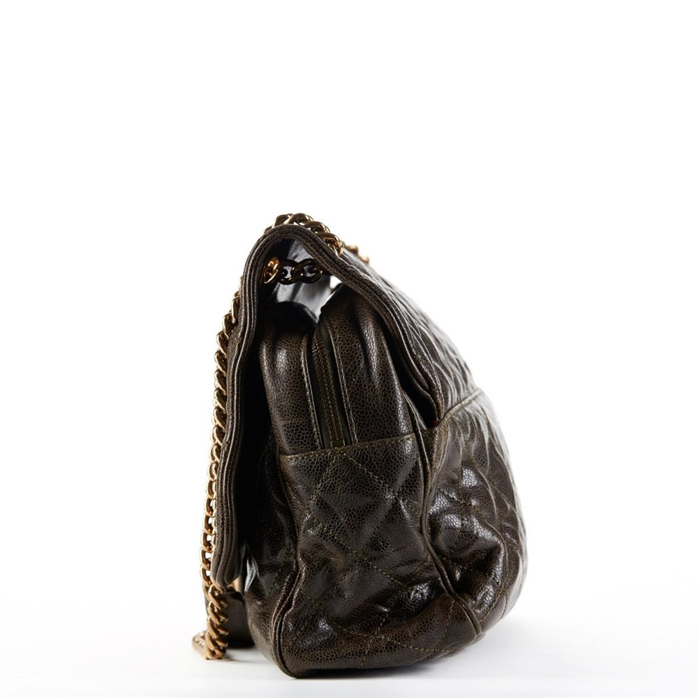 13f6fdf887f0 Chanel Maxi Shiva Flap Bag 2012 HB181 | Second Hand Handbags | Xupes