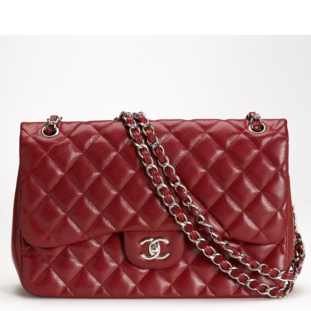 d9f881c8d4e3 Chanel Jumbo Classic Double Flap Bag 2011 CB056 | Second Hand Handbags
