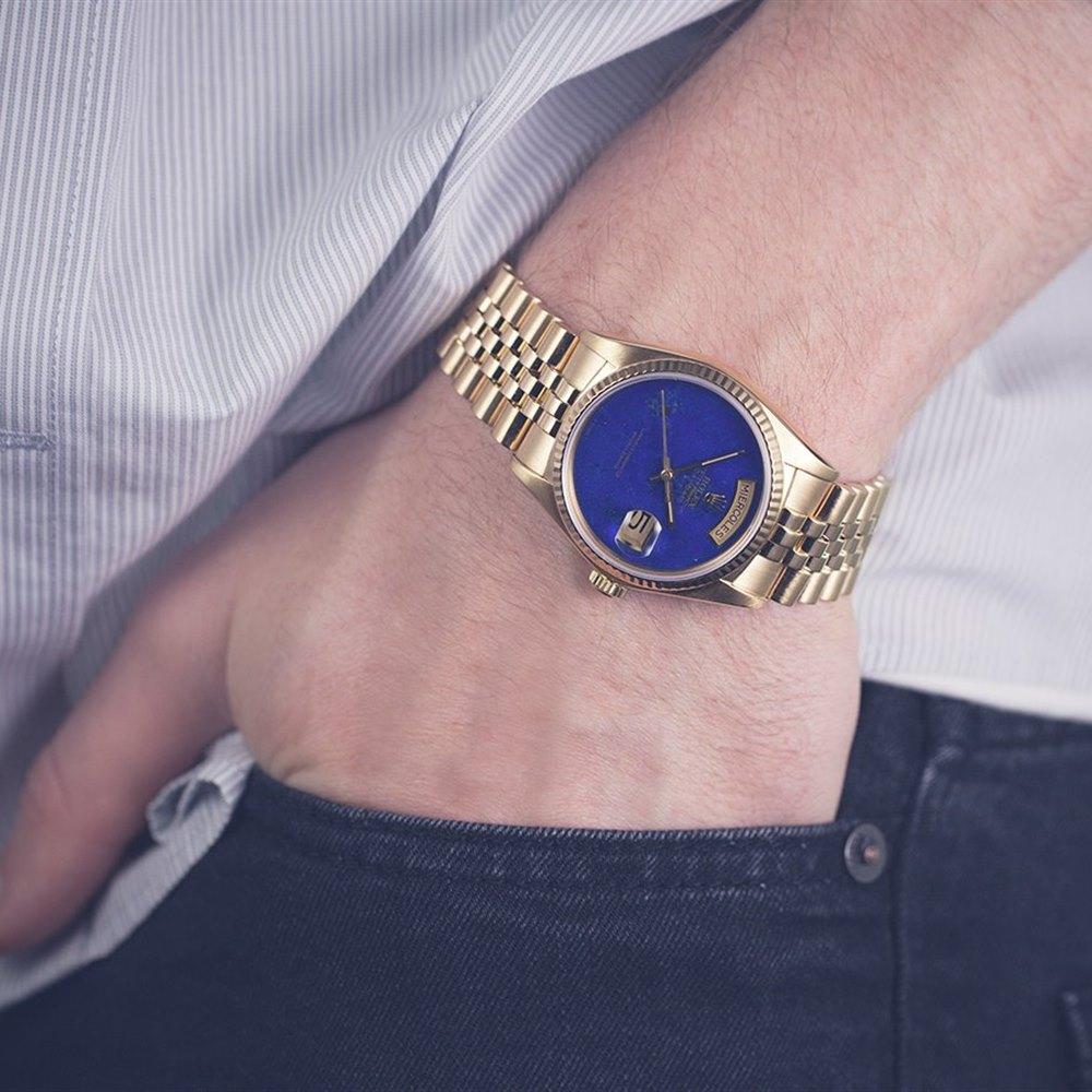 Rolex Day-Date Lapis Lazuli Dial 18k Yellow Gold 18038