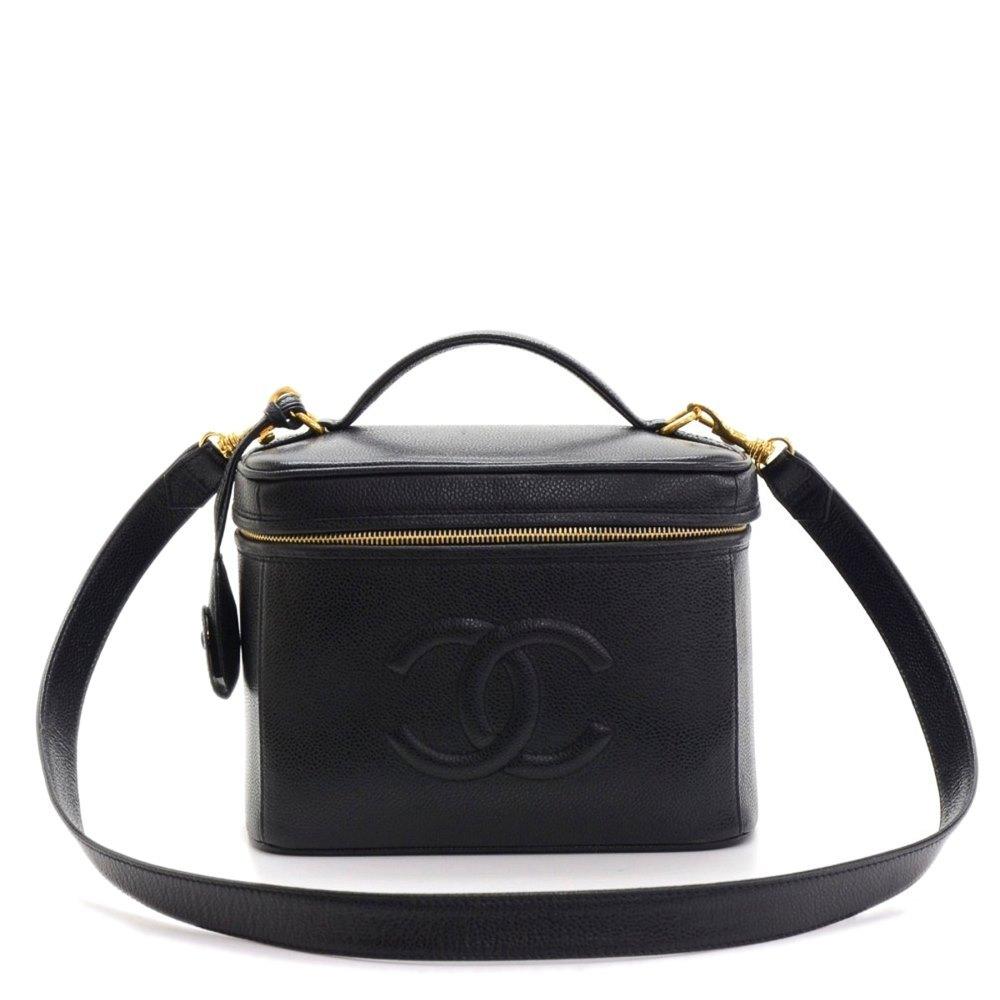 4c742cb53fe Chanel Timeless Vanity Handbag 1996 HB221 | Second Hand Handbags