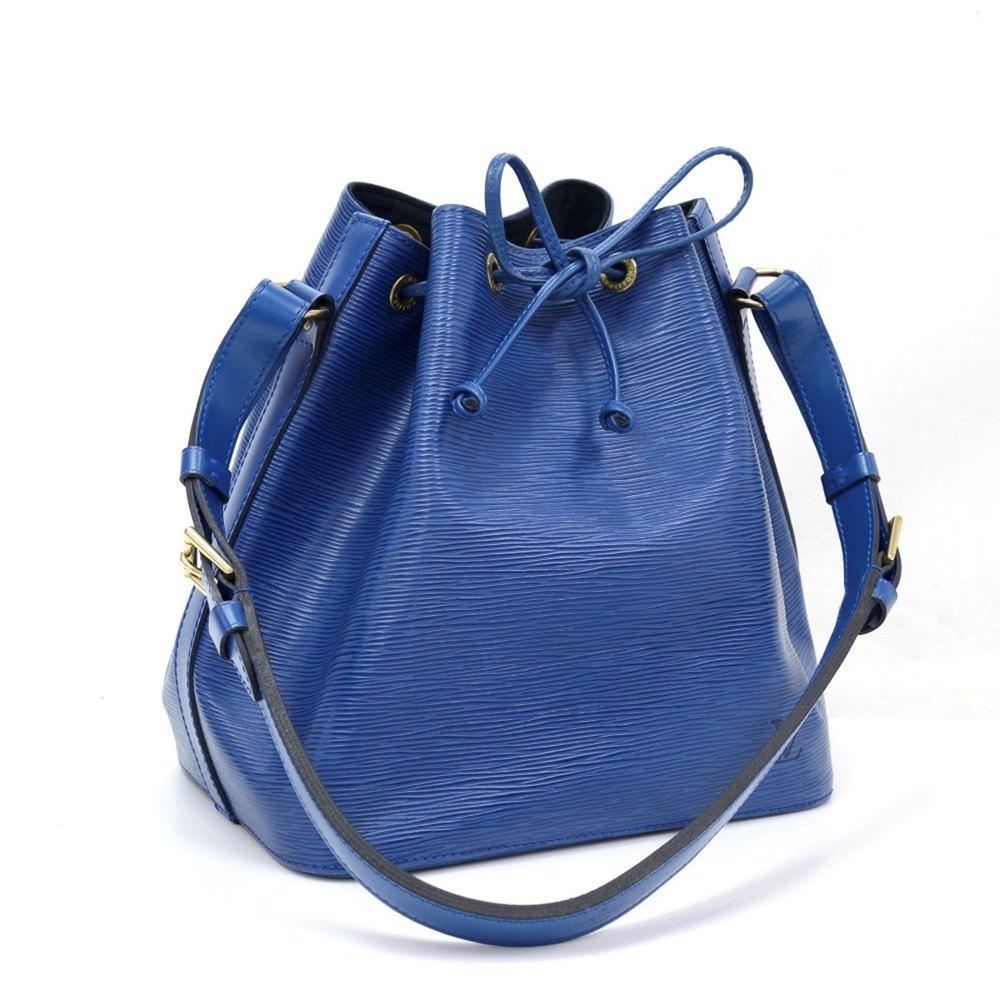 f7d52d24f6b1 Louis Vuitton Blue Epi Leather Vintage Petit Noé