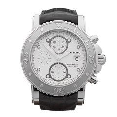Montblanc Sport Chronograph 44mm Stainless Steel - 104280