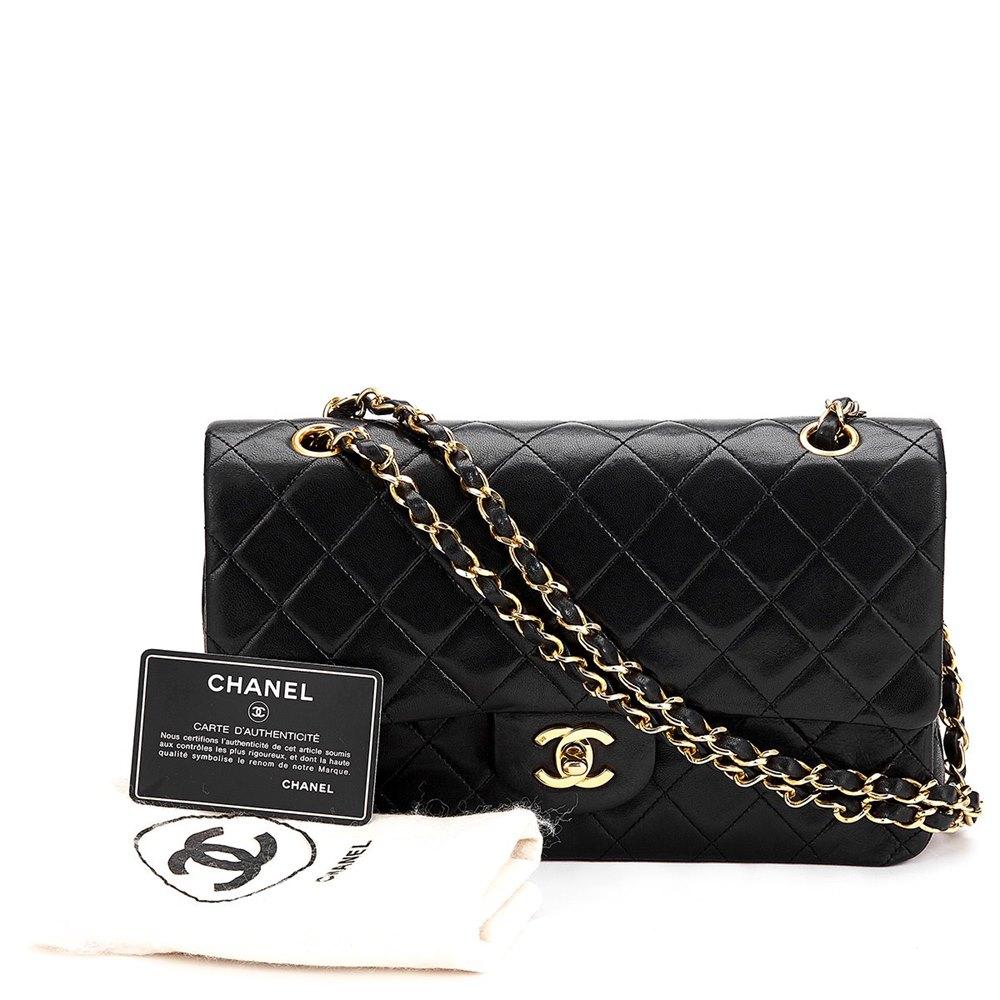 d386fbb262fe Chanel Medium Classic Double Flap Bag 1991 HB262 | Second Hand Handbags