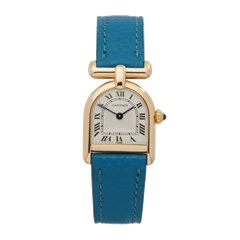 Cartier Vintage 18mm 18K Yellow Gold - 660300406