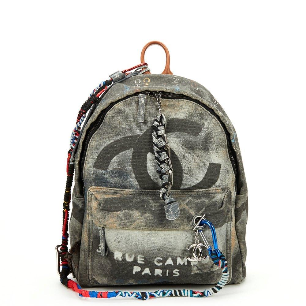 Chanel Medium Graffiti Backpack 2014 Hb326 Second Hand Handbags