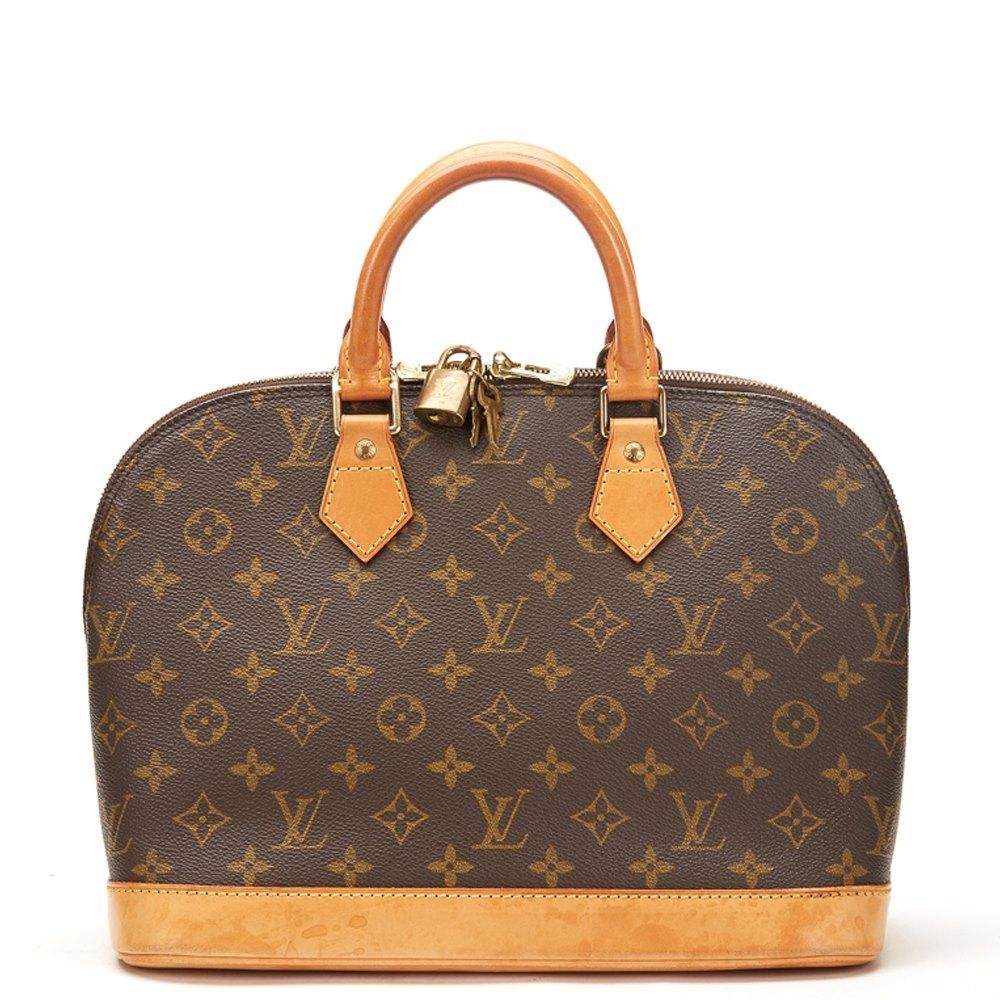 Louis Vuitton Alma Pm 1999 Hb360 Second Hand Handbags Xupes