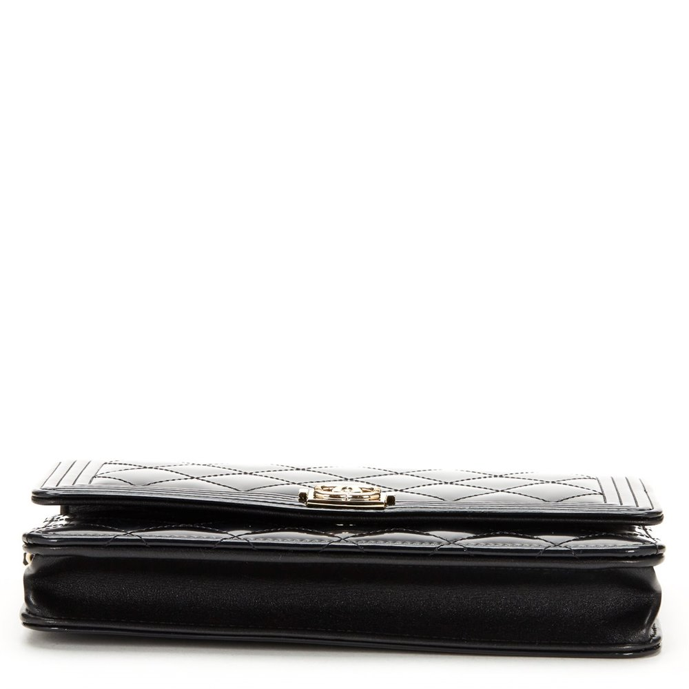 fd4fea04d802 Chanel Boy Wallet-on-Chain 2016 HB392 | Second Hand Handbags | Xupes