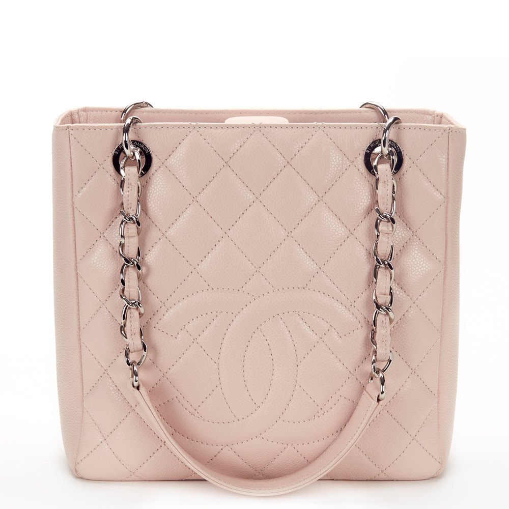 ce6a2122c353 Chanel Petite Shopping Tote 2013 HB394 | Second Hand Handbags