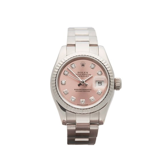 Rolex Datejust 26mm 18K White Gold - 179179