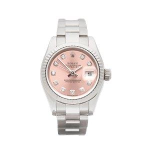 Rolex Datejust 26 Diamond White Gold - 179179